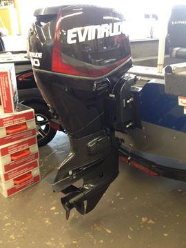 2017 Evinrude ETEC 90 horsepower outboard