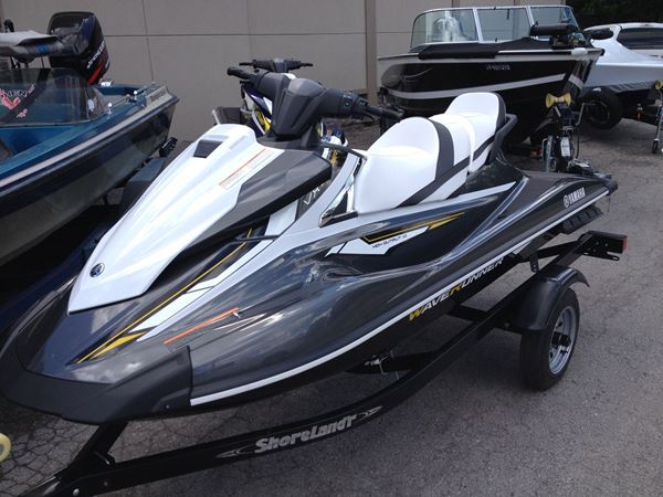 2017 Yamaha VX Cruiser Waverunner on Trailer