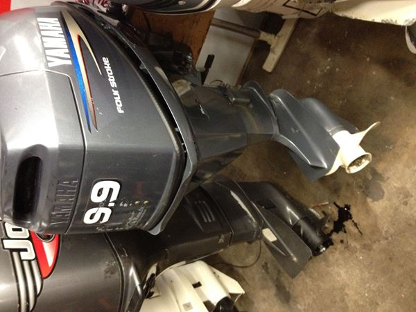 Picture of Yamaha 9.9 four stroke