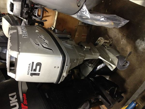 Picture of Honda 15hp four stroke